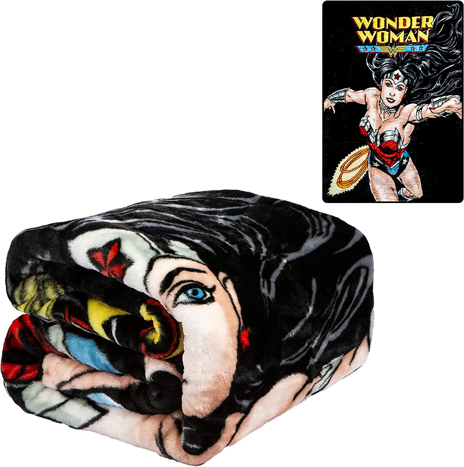 Wonder Woman Flight Blanket Standard