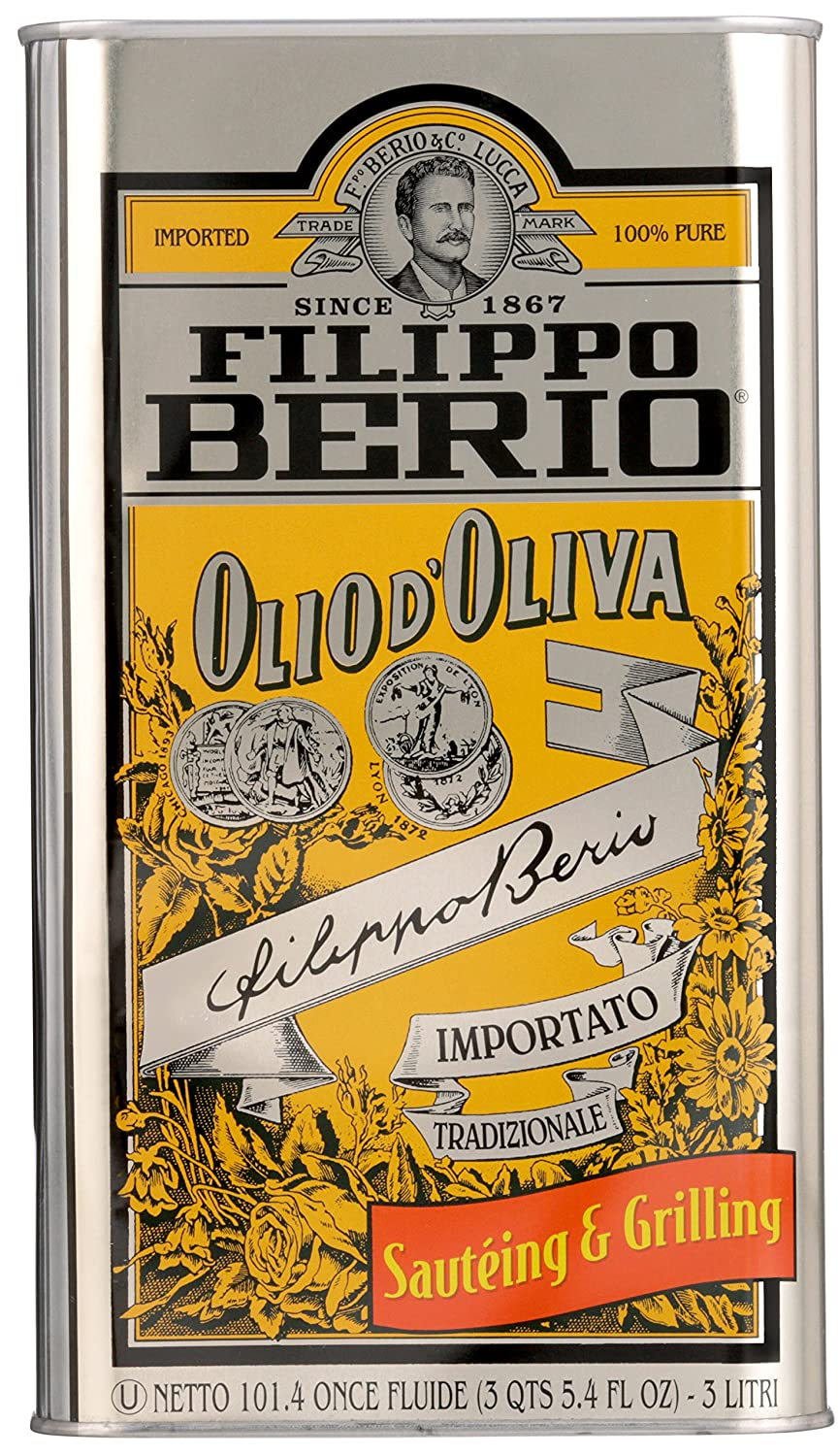 Filippo Berio Traditional Olive Oil, For Sauteing & Grilling, 101.4 Ounce