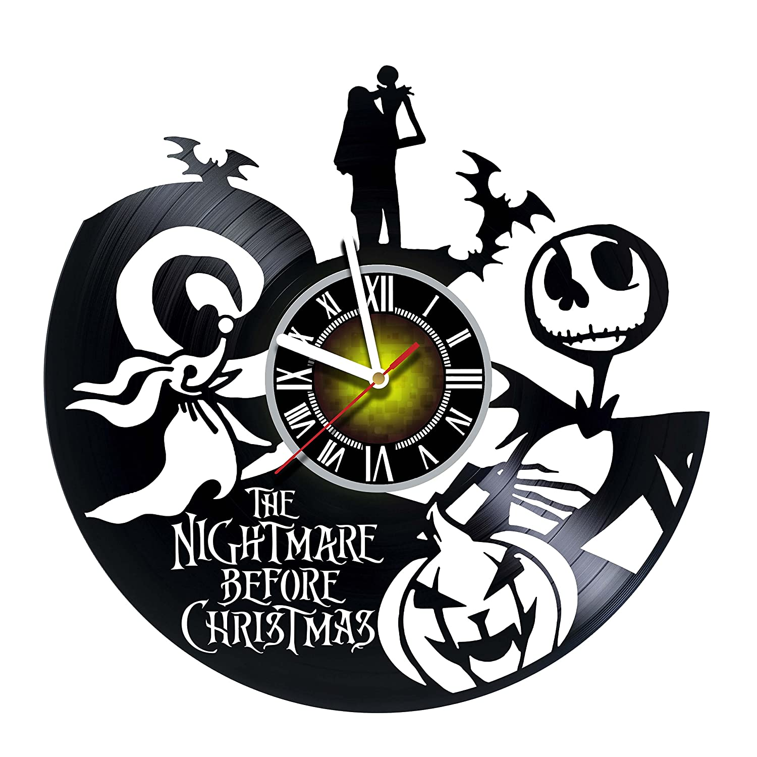 Amazon.com: Toffy Workshop Nightmare before Christmas -Vinyl Record ...