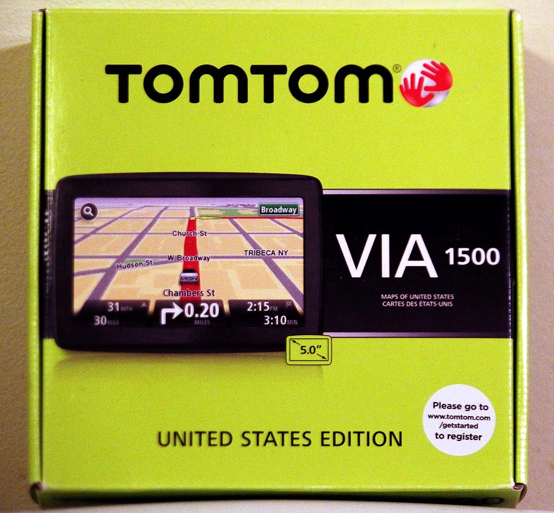 Amazon.com: TomTom VIA 1500 5-Inch Portable GPS Navigator: GPS