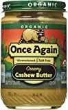 Once Again Nut Butters (C) Cashew Btr, Og, 16-Ounce
