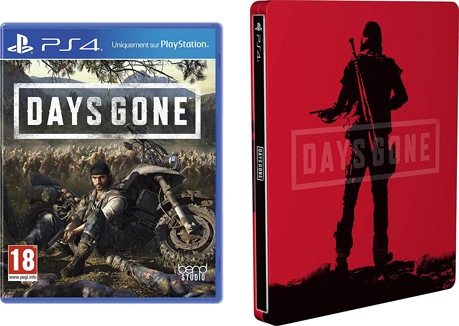 Days Gone Ps4 Steel Book Only Buy One Give One Video Games & Consoles