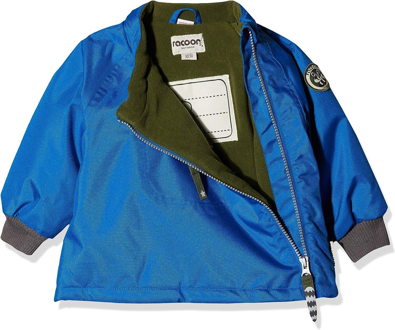Racoon Baby-Jungen Cilas Solid Jacket Jacke