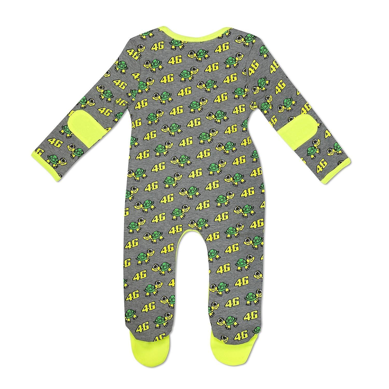 VR46 Baby Strampler Insgesamt Schildkröte Offiziell Valentino Rossi Ware