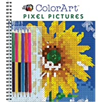 ColorArt: Pixel Pictures Book with Colored Pencils