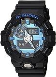 Casio 卡西欧 男款 'G SHOCK' 石英树脂休闲手表,(型号: GA-700-2ACR)