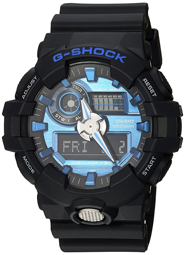 Casio G-Shock Mens GA700-7ACR Watch White Black: Casio: Amazon.es: Ropa y accesorios