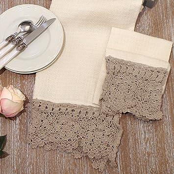 Paño de Cocina Nido Abeja - Cocina de toalla de Mano - Trapos de Cocina Rústico