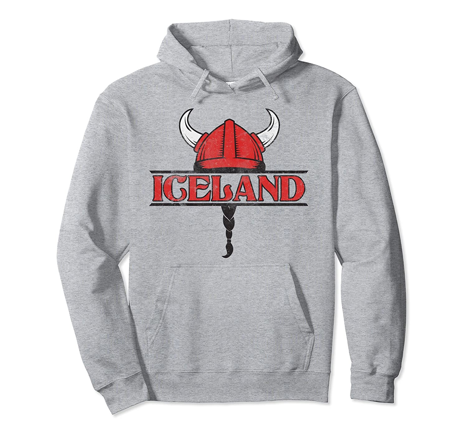 2018 Iceland World Soccer Championship Vintage Fan Hoodie-Awarplus
