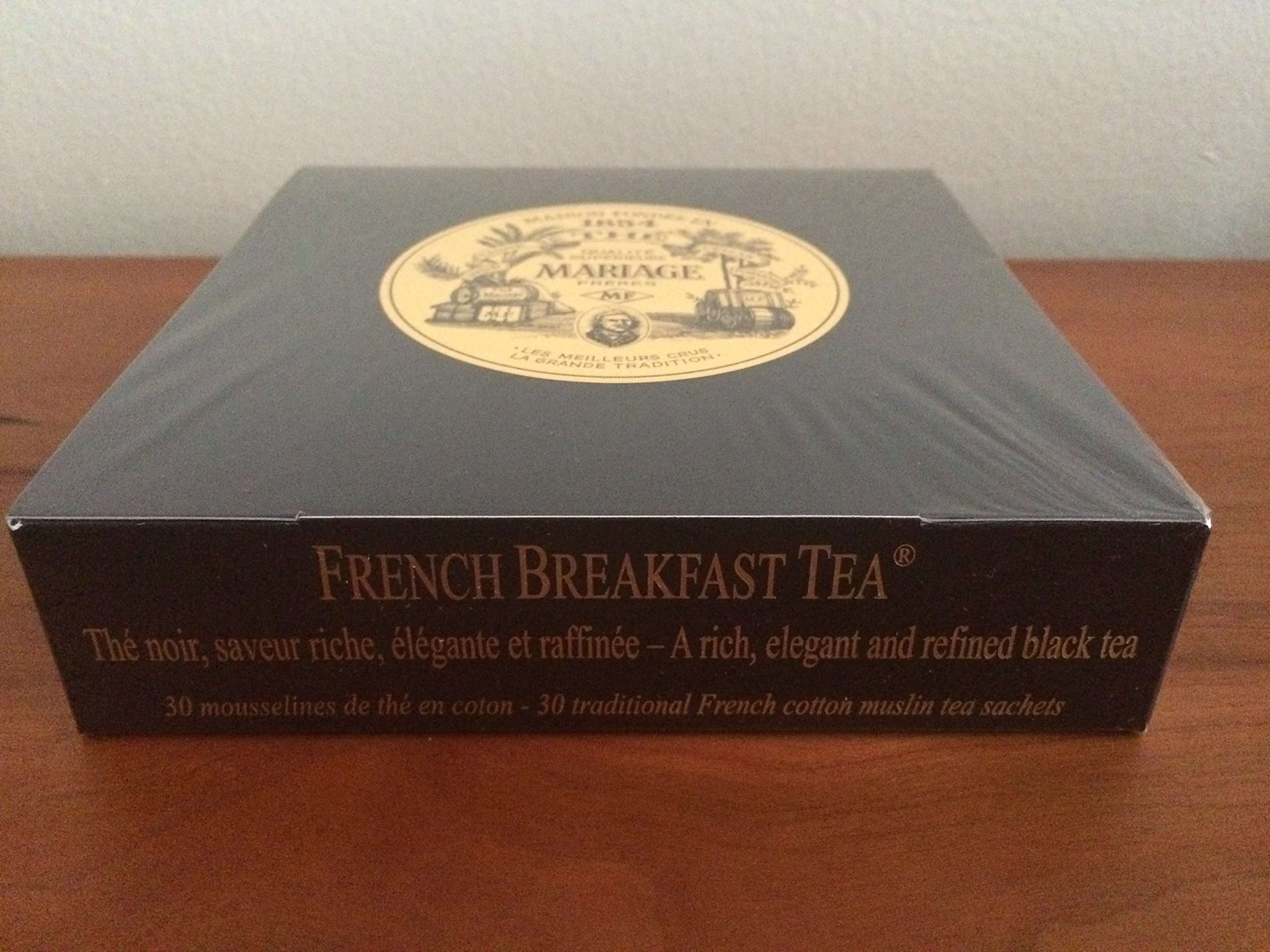Mariage Freres - French Breakfast Tea - Box of 30 Traditional French Muslin Tea Sachets