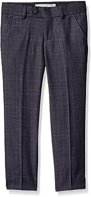 Appaman Boys' Navy Tattersal Plaid Mod Suit Pants