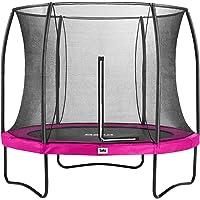 Salta Trampoline Unisex Jugend Comfort Edition Schutzrand, Pink, 183cm