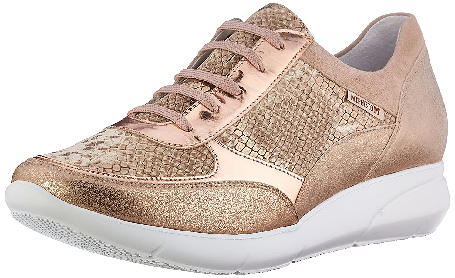 Mephisto Women's Diane Oxford B01MST1HMO 6.5 B(M) US|Light Sand Old Vintage/Gold Boa/Nude Magic/Light Sand Velcalf Premium