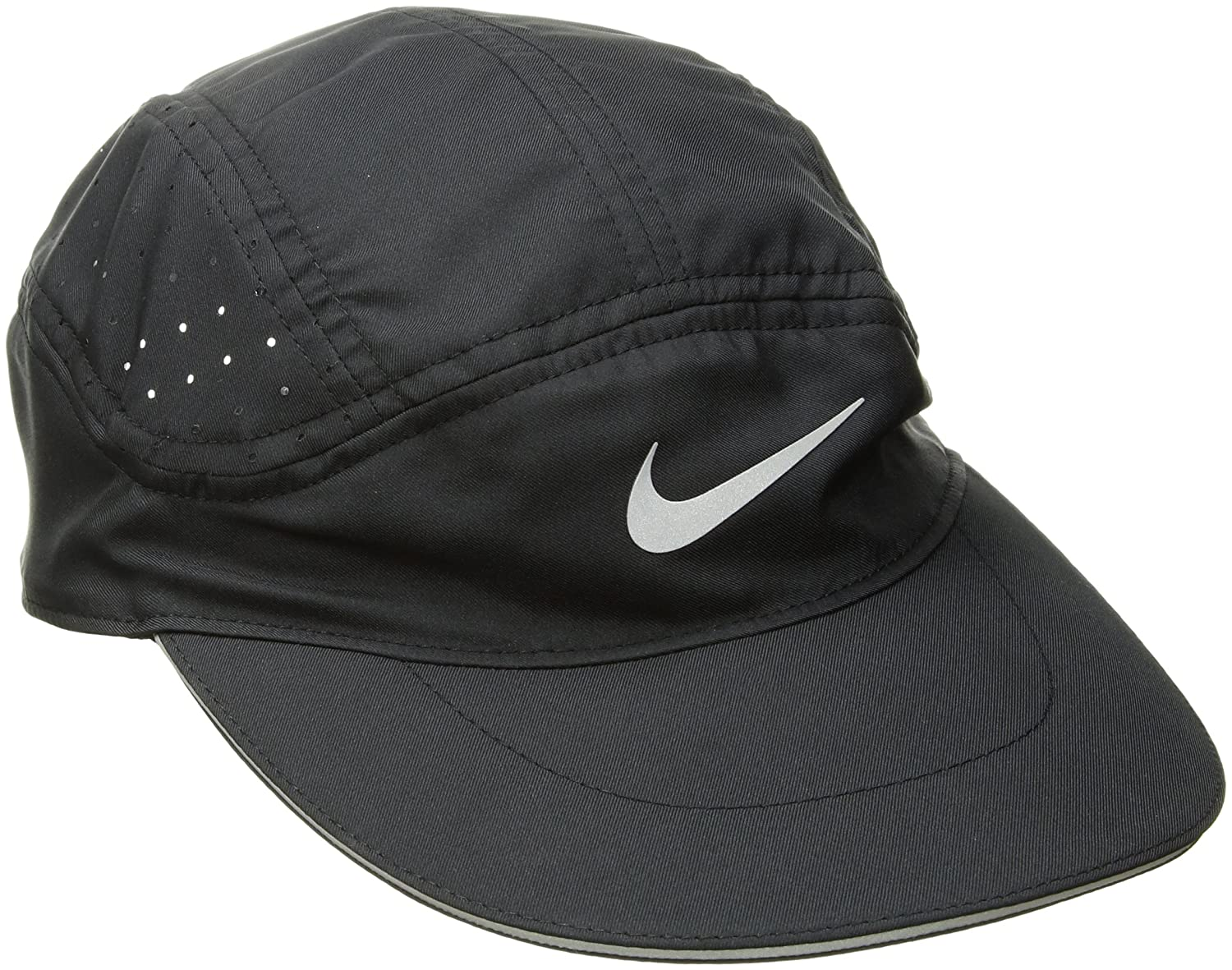 c21bdb61fae66 Amazon.com  Nike Mens Aerobill TW Elite Running Hat Black Black 828617-010   Sports   Outdoors