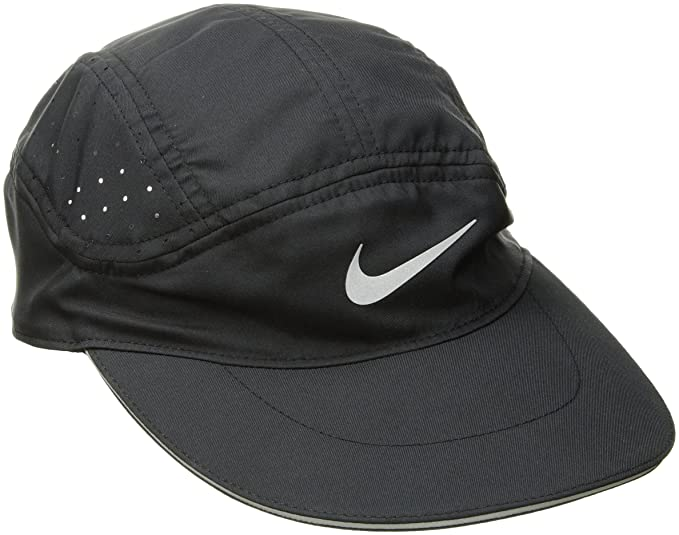 ec89c49192cd9e Amazon.com: Nike Mens Aerobill TW Elite Running Hat Black/Black ...