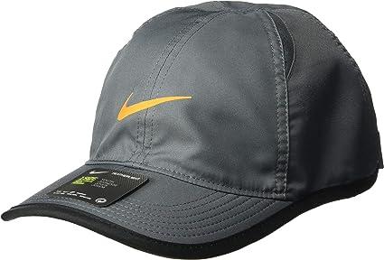 Nike Y NK AROBILL FTHRLT Cap Gorra de Tenis, Unisex niños, Negro ...