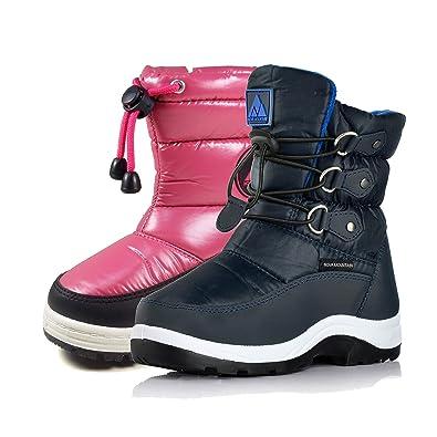 97c0cae3aa7b4 Nova Mountain Little Kid s Winter Snow Boots