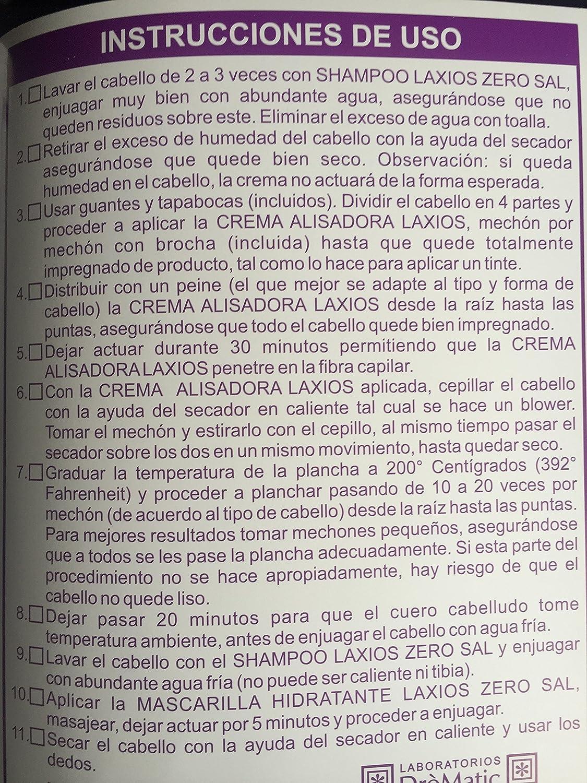 Amazon.com: KERATIN TREATMENT - EL MEJOR TRATAMIENTO DE KERATINA HECHO EN COLOMBIA LAXIOS KIT 3 UNIDADES CABELLO ONDULADO - THE BEST TREATMENT KERATINA 120 ...
