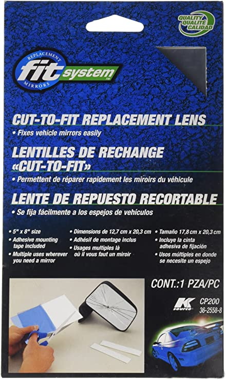 Fit System CP100 Replacement Cut-to-fit Glass