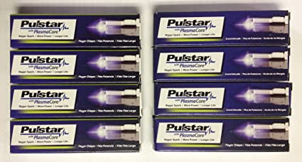 8 New Pulstar PlasmaCore Spark Plugs BE1H10