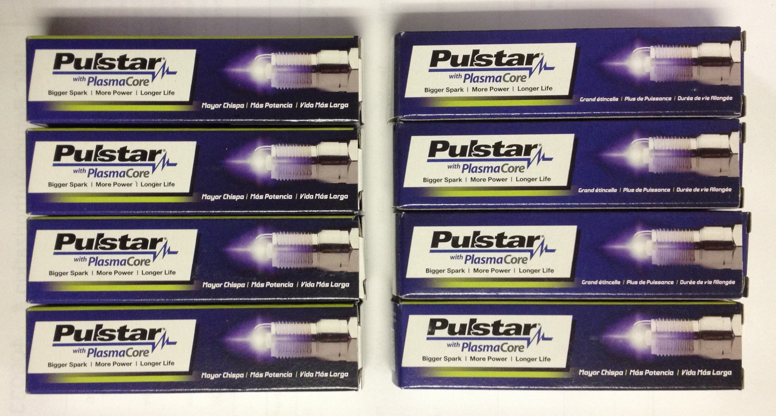 8 New Pulstar PlasmaCore Spark Plugs BE1H10 by Pulstar