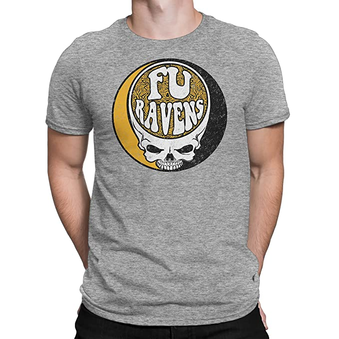 quality design 00d35 6a481 Rival Gear Men's Pittsburgh Steelers Fans, FU Ravens Black T-Shirt (Large)