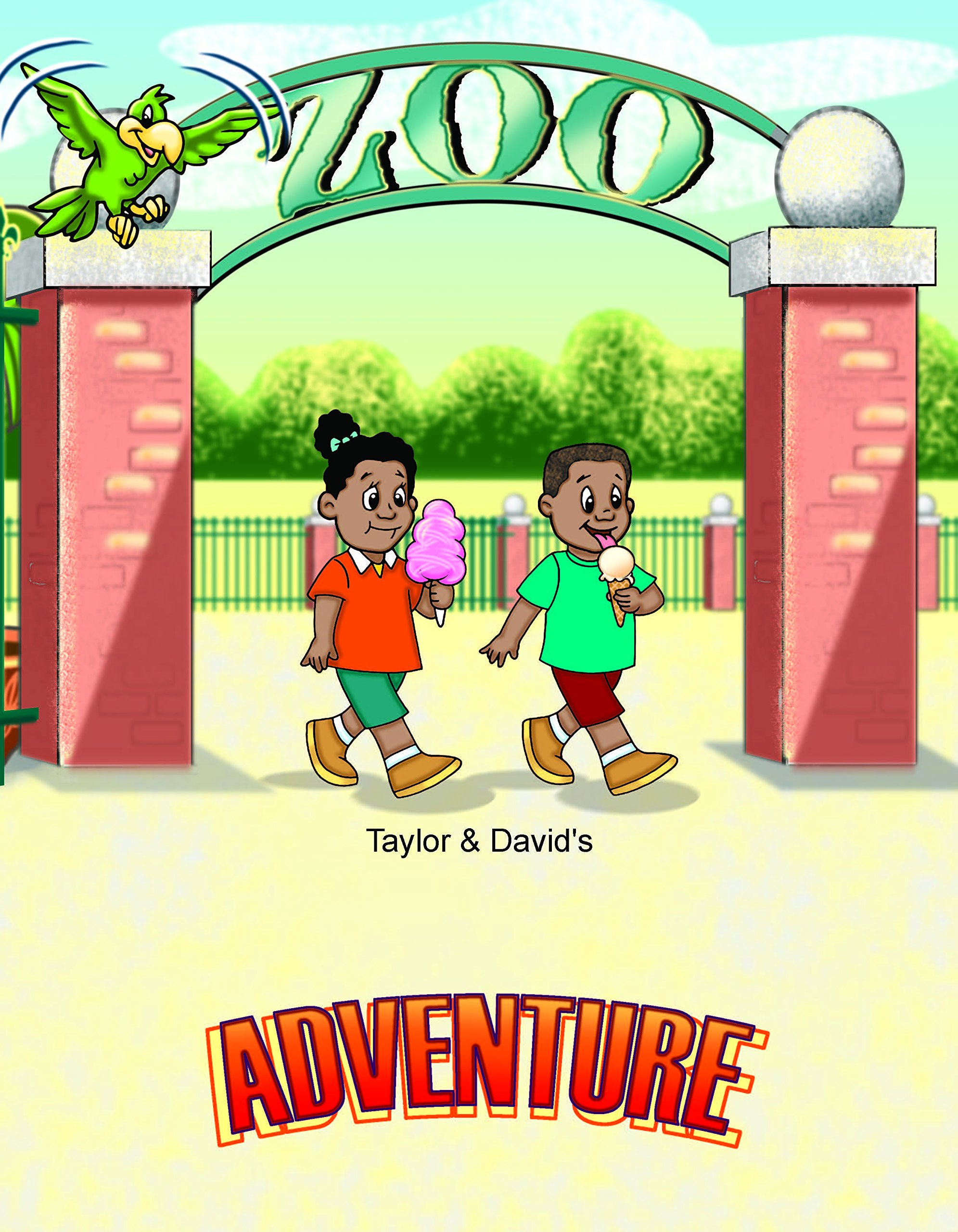 Personalized African American Zoo Adventure Book | Personalized Children's Books | First Time Books