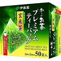 Itoen Premium Tee Bag Genmai Tea 1.8g - 50 Theezakjes - Groene Thee - (Pack Type)