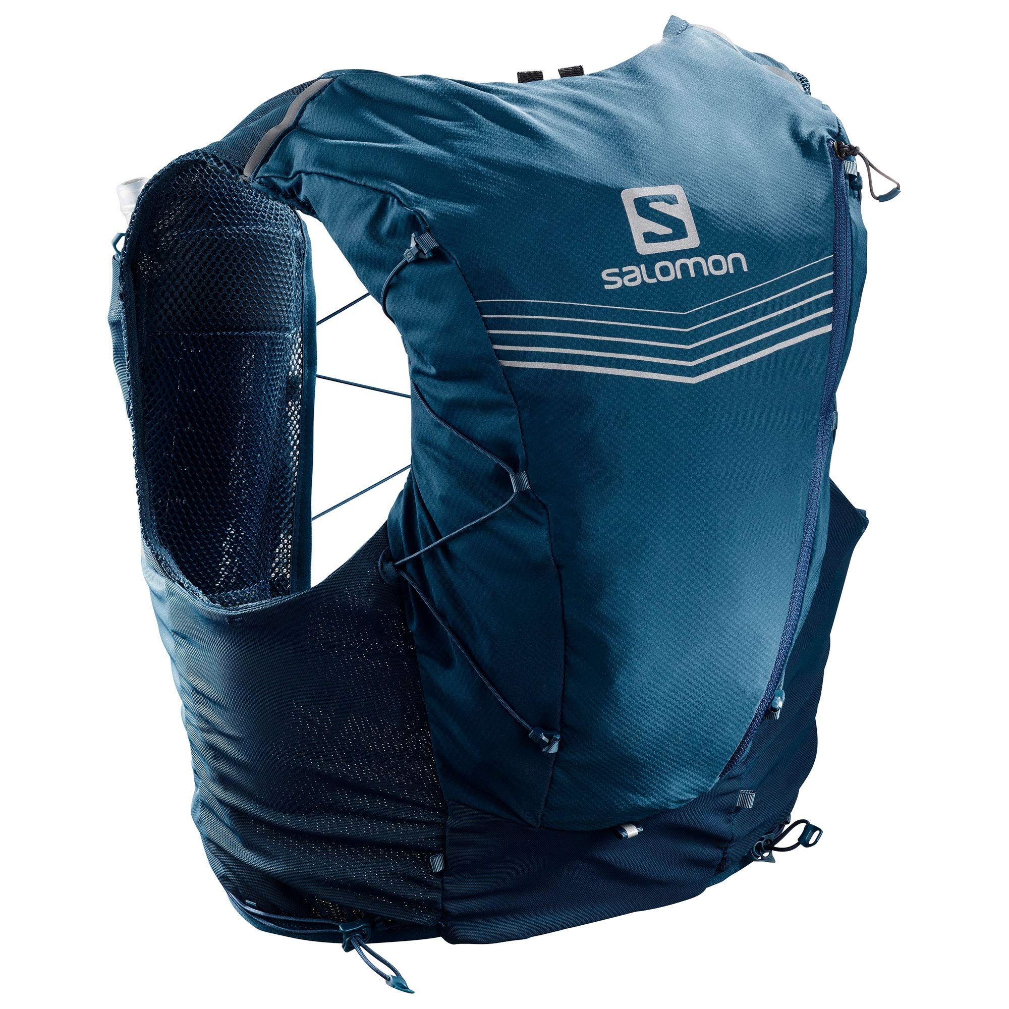 Salomon Adv Skin 12 Set Hydration Stretch Pack, Poseidon/Night, Medium by Salomon (Image #1)