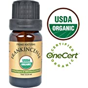 Organic Frankincense Essential Oil 10ml - USDA Certified - Boswellia Serrata - 100% Natural Pure Undiluted Therapeutic Grade for Aromatherapy Scents Diffuser Anti Aging Relaxation Anxiety Relief