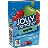 JOLLY RANCHER Chews Candy, Assorted Original Flavors (Cherry, Watermelon, Blue Raspberry, Green Apple), 2.06 Ounce Box (Pack of 24)