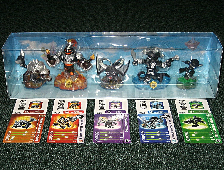 Skylanders SWAP Force Dark Edition 5 Figure Set by ...