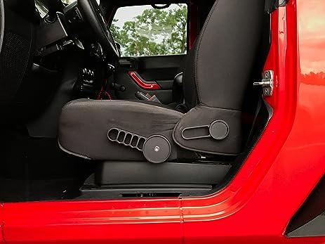 Amazon.com: New Slick Black Design Driver Seat Handle Recline Lift ...