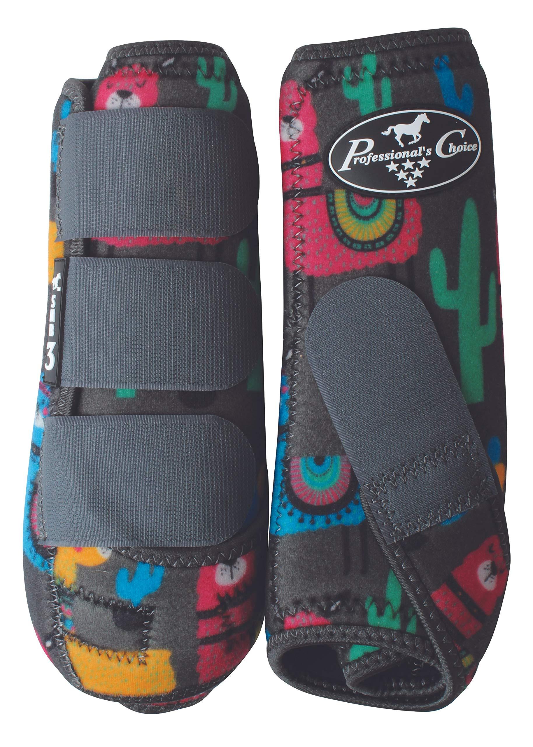 Professional's Choice SMB3 2-PK Boots Sml Llama