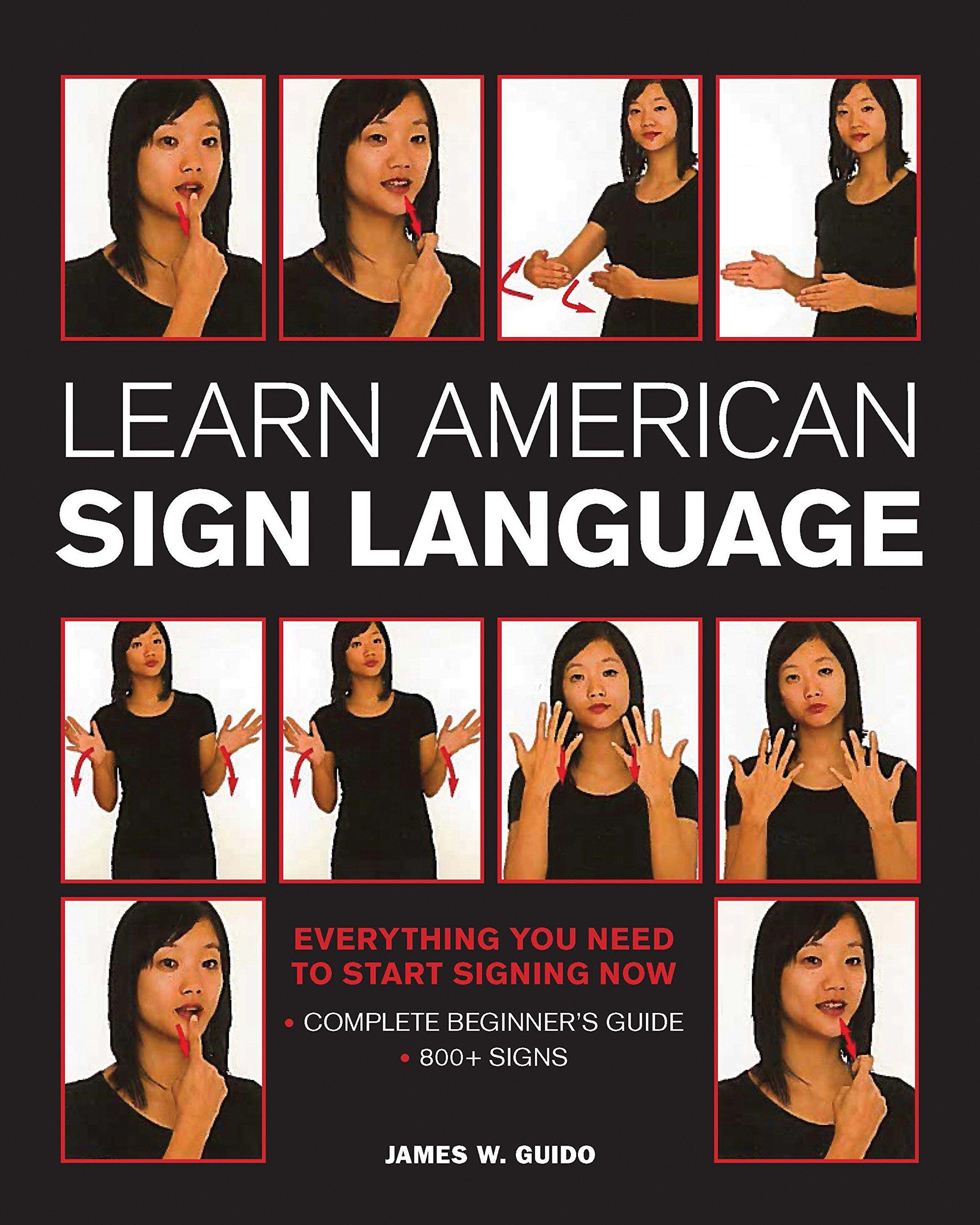 Learn American Sign Language by Wellfleet Press