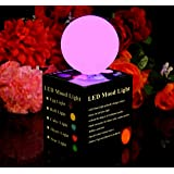 Mood Lamp Colour Changing Ball Light - Mini Sphere Orb Globe Sensory Mood Lighting for Party, Home, Bedroom by PK Green