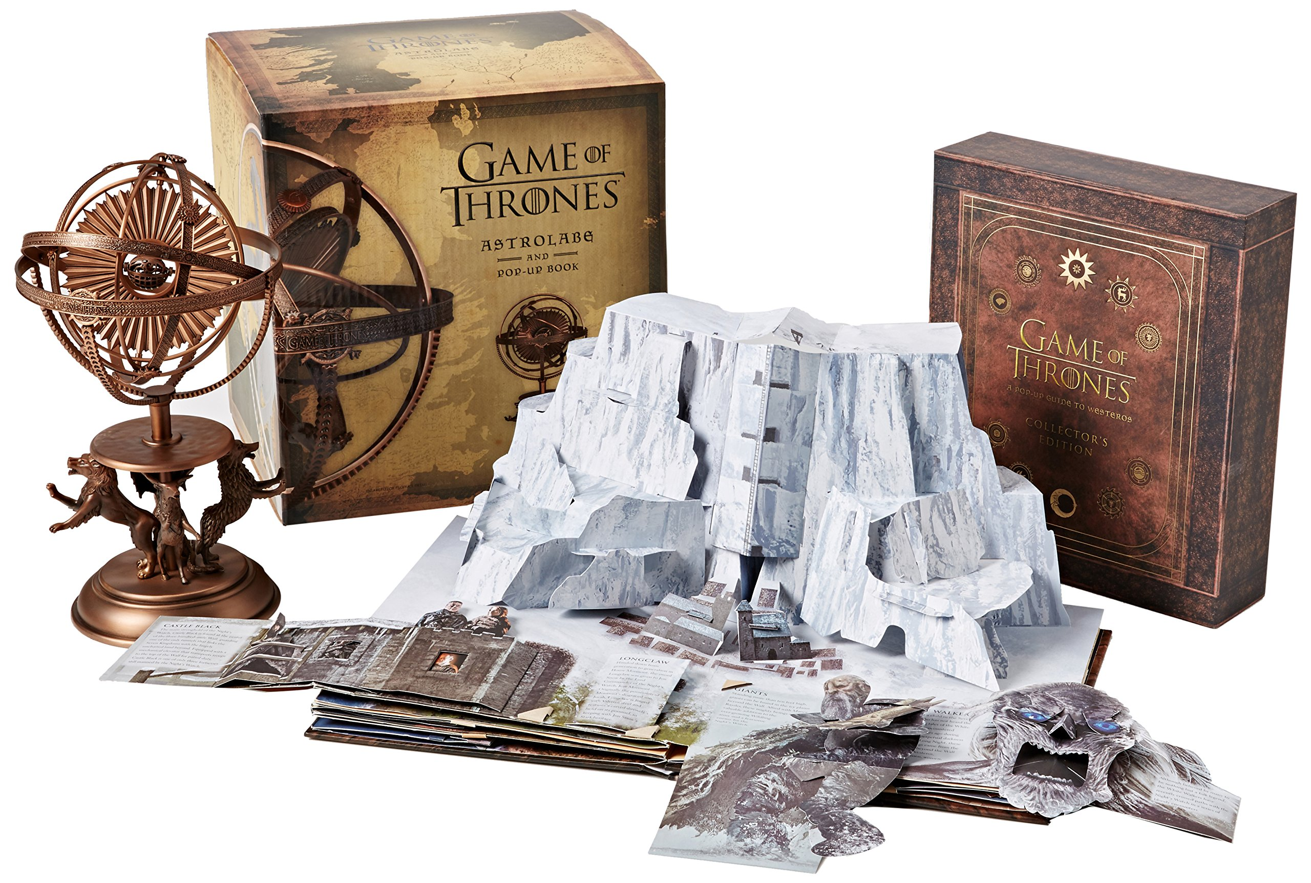 Game Of Thrones Astrolabe Collectors Edition Book Set Amazoncouk Matthew Reinhart 9781608874736 Books