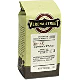 Verena Street 11 Ounce Ground, Swiss Water Process Decaf Coffee, Sunday Drive Decaffeinated, Medium Roast Rainforest Alliance Certified Arabica Coffee