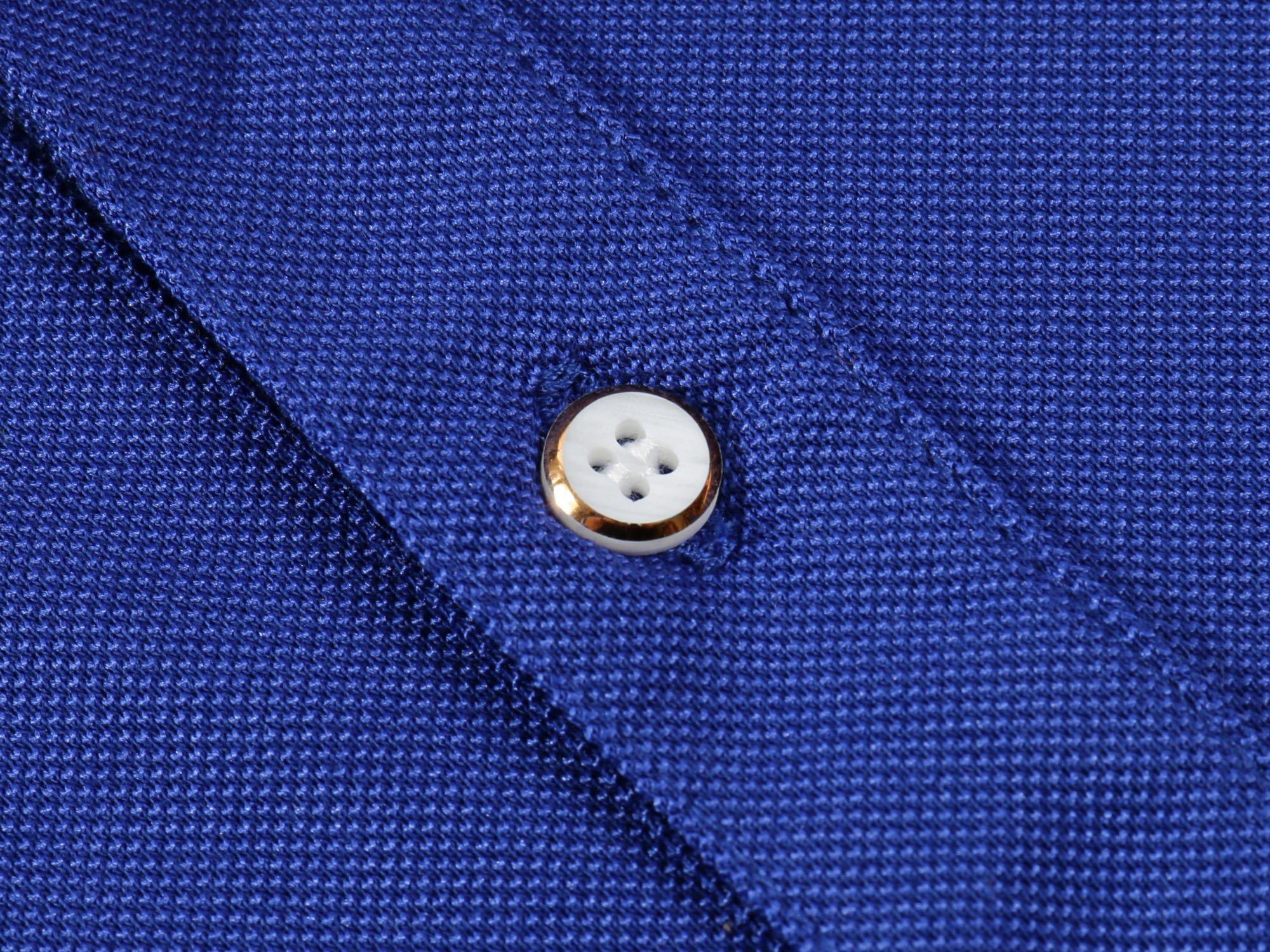 Mitario Femiego Women Classic Rainbow Collar Slim Fit Short Golf Polo Shirt Wine Red S by Mitario Femiego (Image #5)