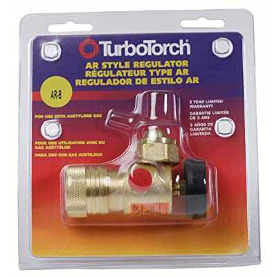 TurboTorch 0386-0725 AR-B Acetylene Regulator: Gas Welding Accessories: Industrial & Scientific