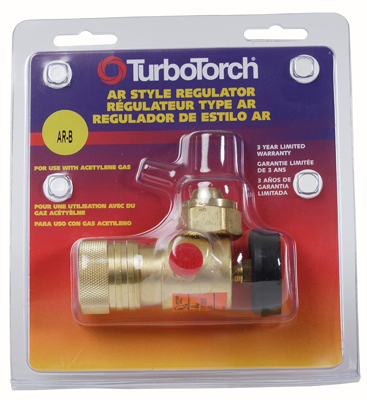 TurboTorch 0386-0725 AR-B Acetylene Regulator