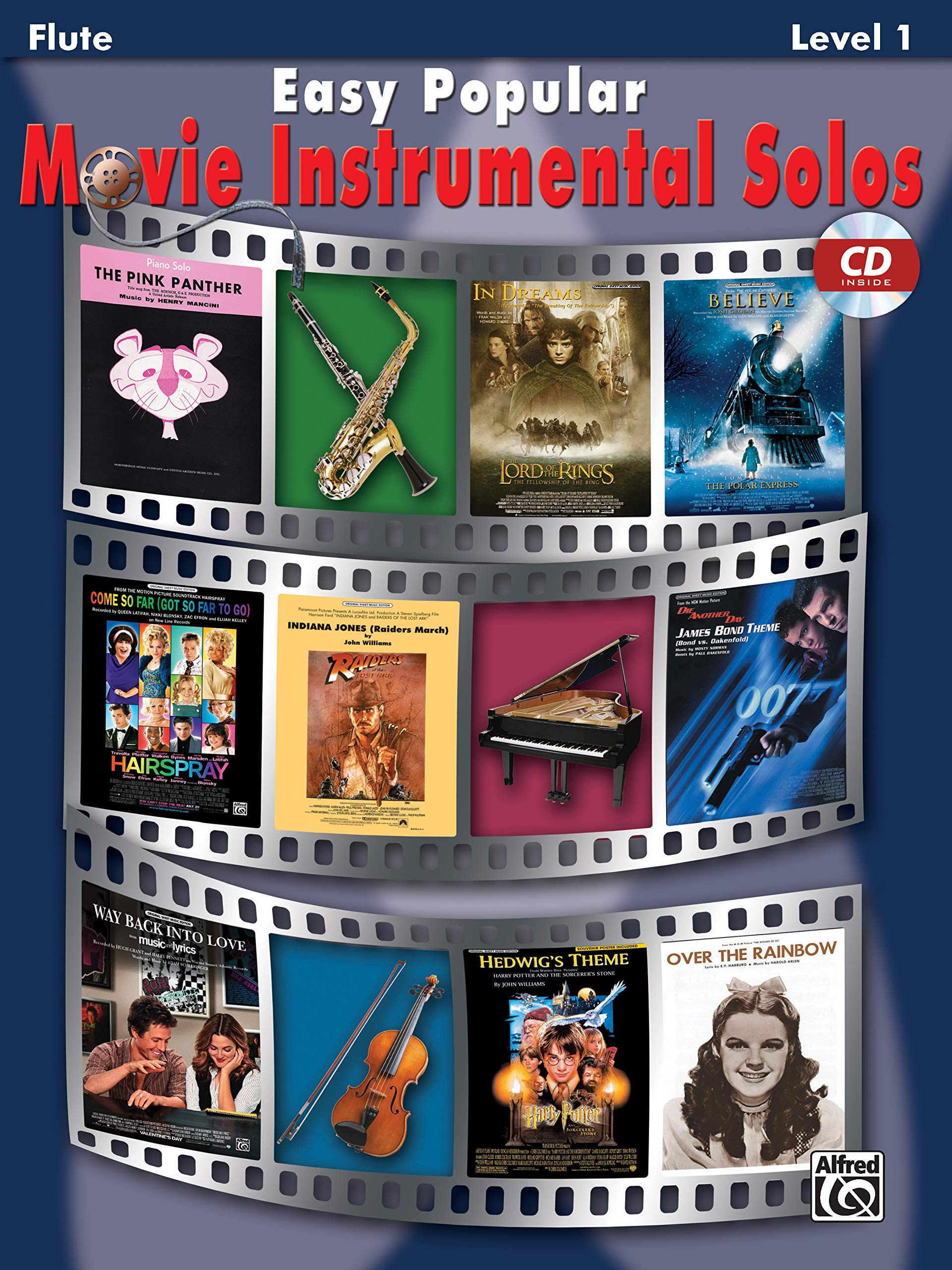 Ultimate Movie Instrumental Solos Clarinet Sheet Music Book /& Play-Along CD