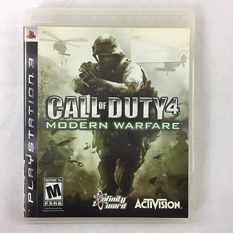 Call of Duty 4: Modern Warfare(輸入版): Amazon.es: Videojuegos