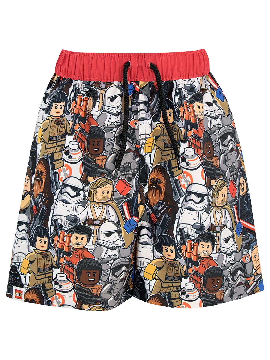 LEGO Star Wars Boys Luke Skywalker Stormtrooper Swim Shorts