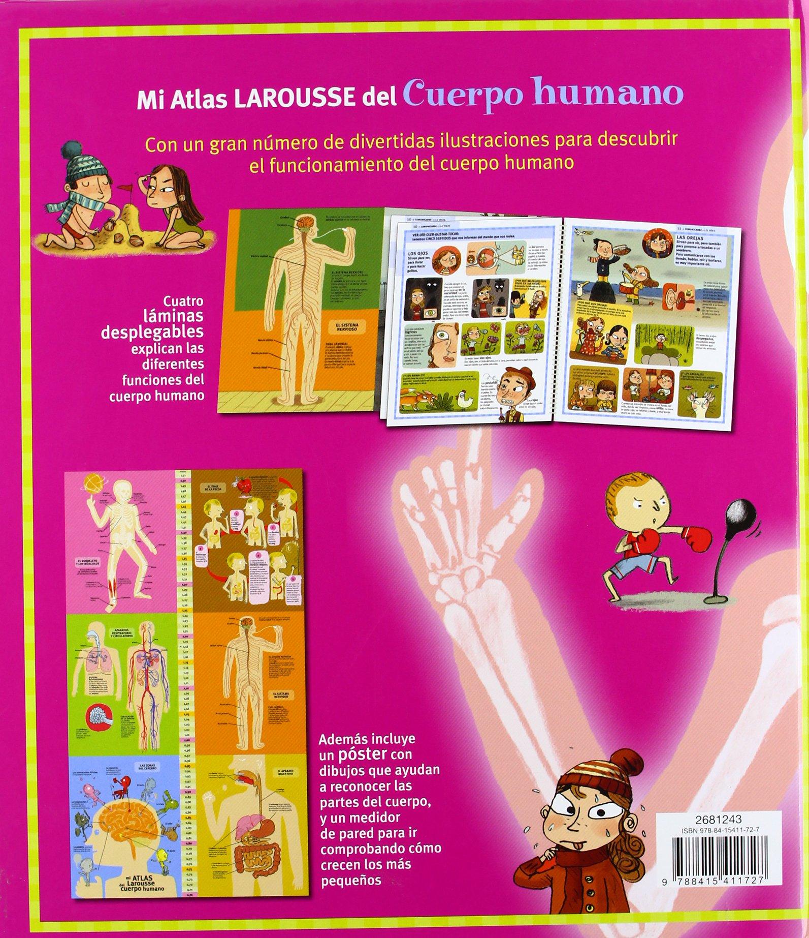 Mi Atlas Larousse del cuerpo humano Larousse - Infantil / Juvenil ...