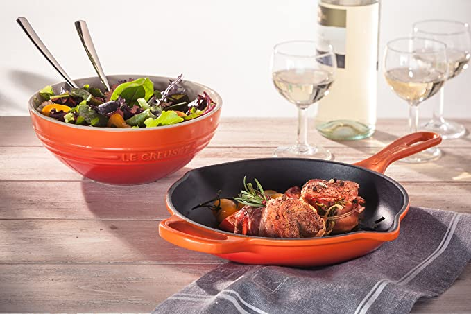 Amazon.com: Le Creuset Signature Iron Handle Skillet, 6-1/3-Inch, Marseille: Kitchen & Dining