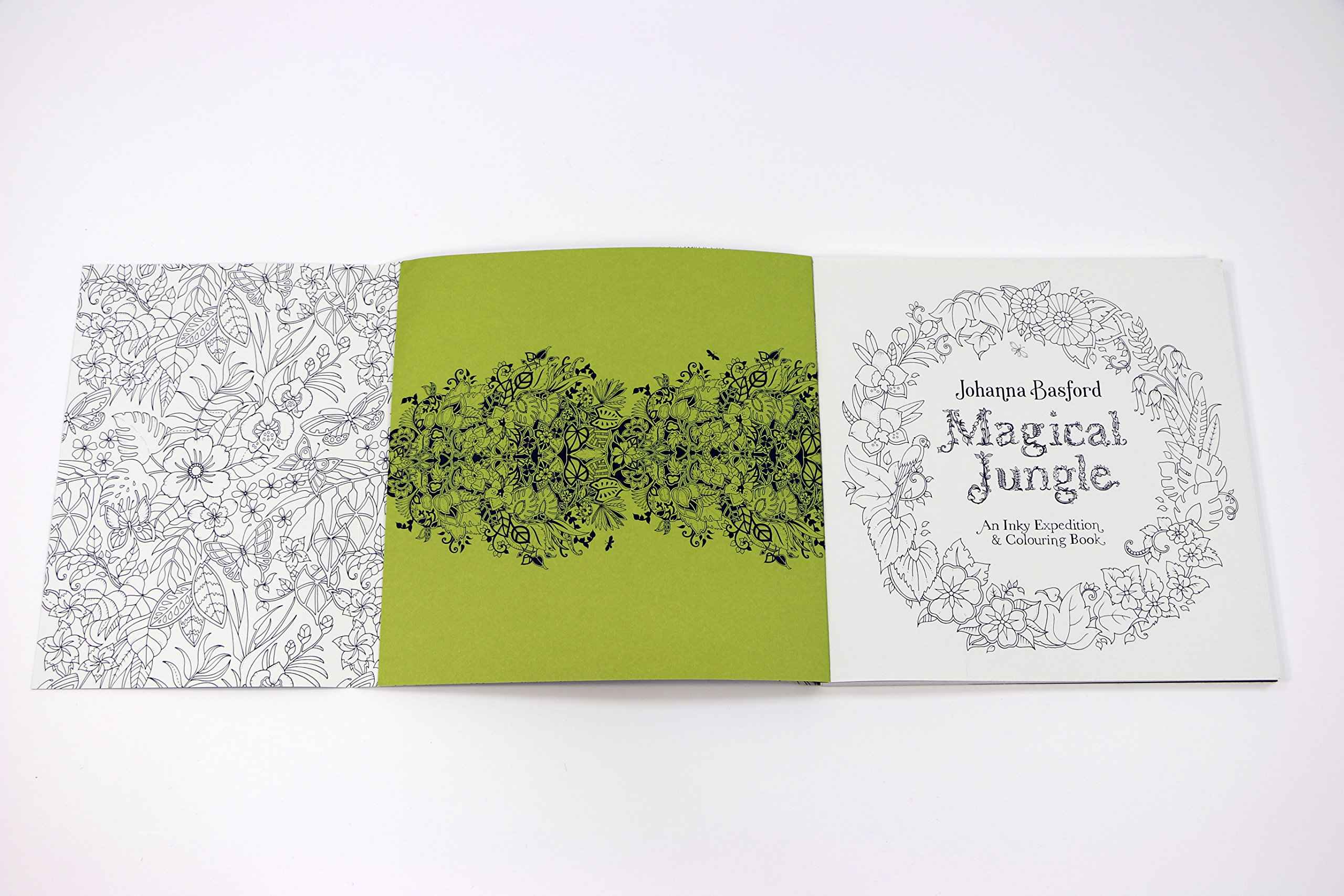 Magical Jungle: An Inky Expedition & Colouring Book (Colouring Books ...