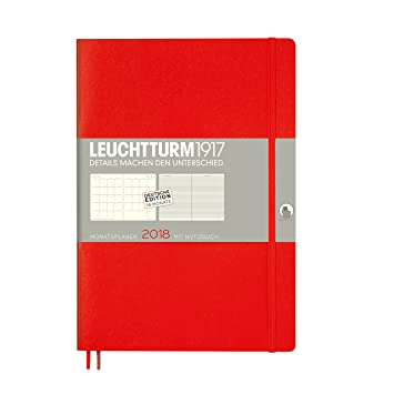 Leuchtturm1917 355149 Mes Agenda con cuaderno 2018 Soft ...