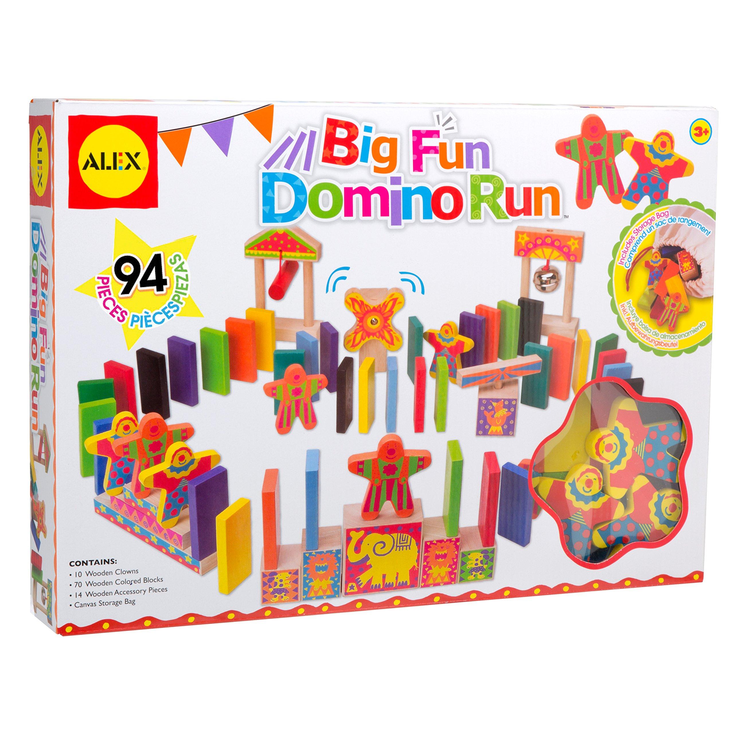 ALEX Toys Big Fun Domino Run 94pc