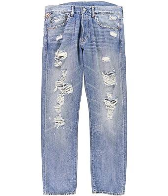 Denim   Supply Ralph Lauren Men s Prospect Slim Ripped Jeans (33x32 ... c30f3ed0a40f